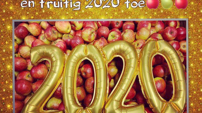 Een Gezond & Fruitig 2020 Gewenst!!