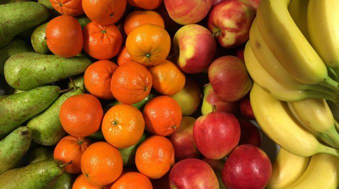 Vers Fruit Op Het Werk…